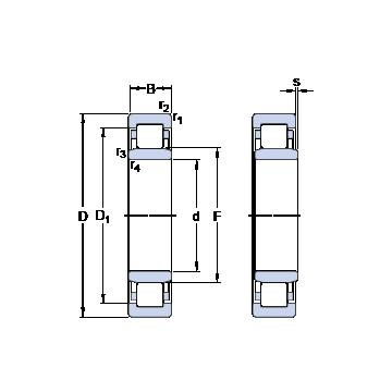 52309 ISO Druckkugellager