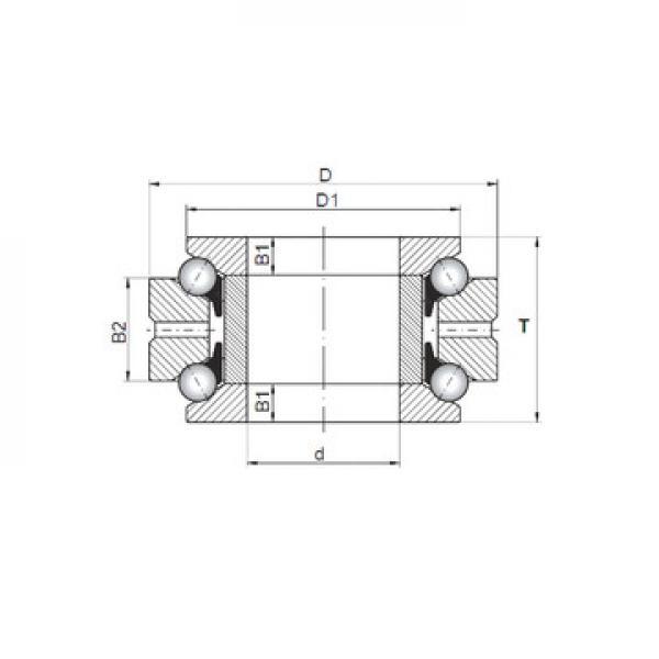 MT2.1/2 RHP Druckkugellager