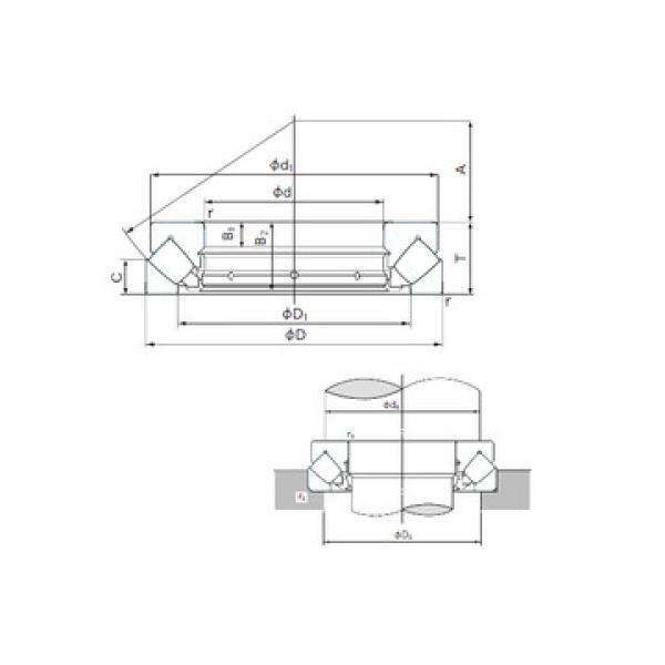AXK5578 INA Druckrollenlager