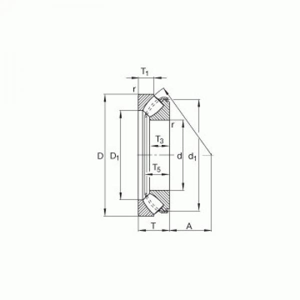 NTH-5280 KOYO Druckrollenlager