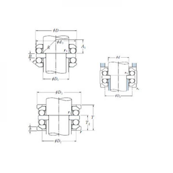 234409 ISO Druckkugellager
